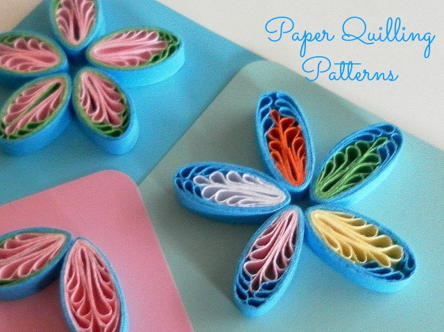 Tutorial for quilling comb flowers paper quilling tutorials for How to quilling designs
